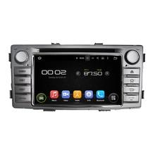 """6.2 """"otojeta автомобильный DVD для Toyota Hilux 2012-2015 8-ядерный Android 6.0 2 ГБ Оперативная память + 32 ГБ встроенная память GPS/Navi/радио/DVR/OBD2/TPMS/камера"""