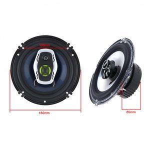 Image 3 - 1 Paar 6.5 Inch 16 Cm 600W 2 Manier Universele Auto Coaxiale Hifi Luidsprekers Auto Audio Muziek Stereo Speaker niet destructieve Installat