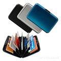 Carteras de diseñador de moda de alta calidad de aluminio titulares de tarjetas de crédito 6 colores disponibles