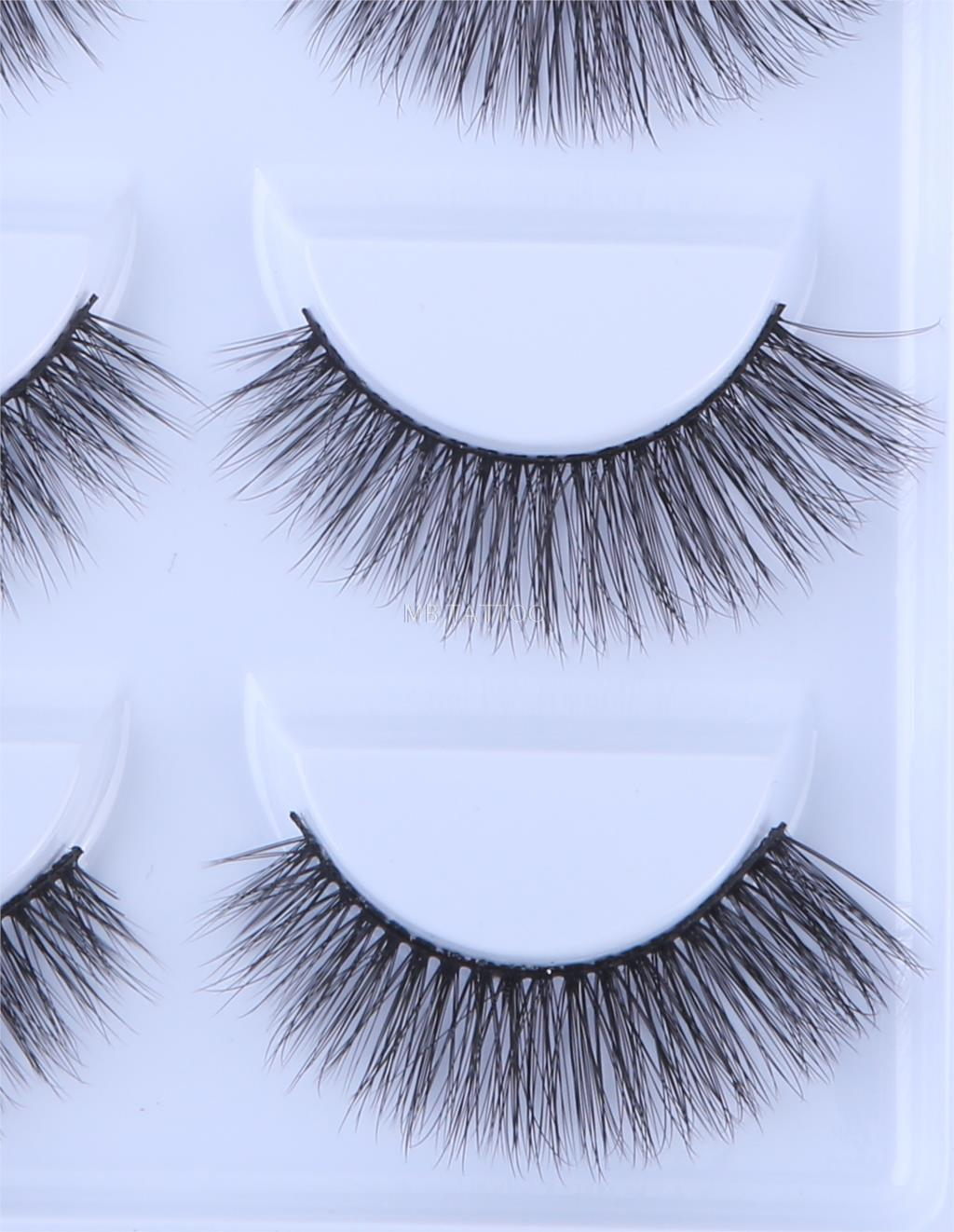 HTB1MRtgRhnaK1RjSZFtq6zC2VXau New 3D 5 Pairs Mink Eyelashes extension make up natural Long false eyelashes fake eye Lashes mink Makeup wholesale Lashes