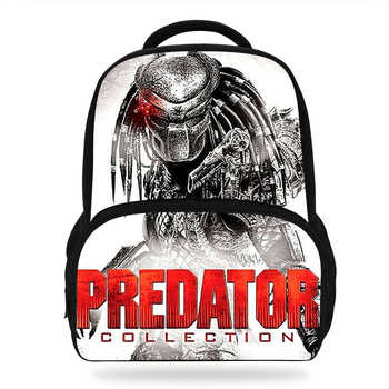 14Inch Hot Sale Kids Print Bag The Predator Backpack For Children Boys Girls School Bags For Students Casual Bag - DISCOUNT ITEM  17% OFF Luggage & Bags