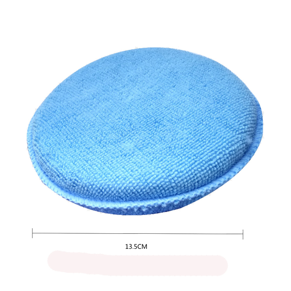 CARPRIE 6pcs Microfibre Foam Sponge Polish Wax Applicator Pads Car Home Cleaning Apr9 Drop Shipping