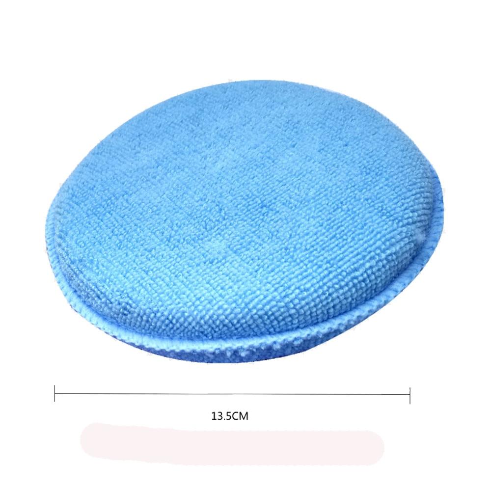 CARPRIE 6pcs Microfibre Foam Sponge Polish Wax Applicator Pads Car Home Cleaning Apr9 Drop Shipping