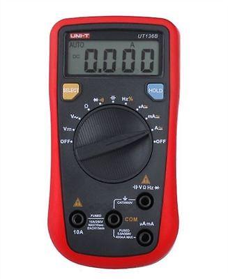 UNI-T UT136B Mini Handheld Digital Multimeter Auto Range AC/DC Voltage Current Resistance Capacitance Frequency Tester цена