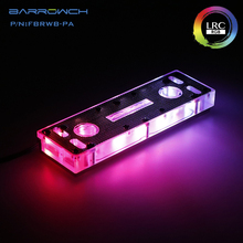 Barrow RAM Block use for 2pcs/4pcs 2/4 Channel Cooled Transparent Radiator with Metal Cover 1 block + RGB 5V 3PIN