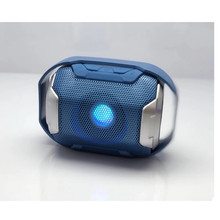 SLC093 Colorful Light Wireless Bluetooth Outdoor Portable Card Audio Mini Sports Subwoofer Speaker