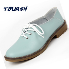 Фотография Genuine Leather Oxford Shoes Women Flats 2017 Fashion Women Shoes Casual Moccasins Loafers Ladies Shoes sapatilhas zapatos mujer