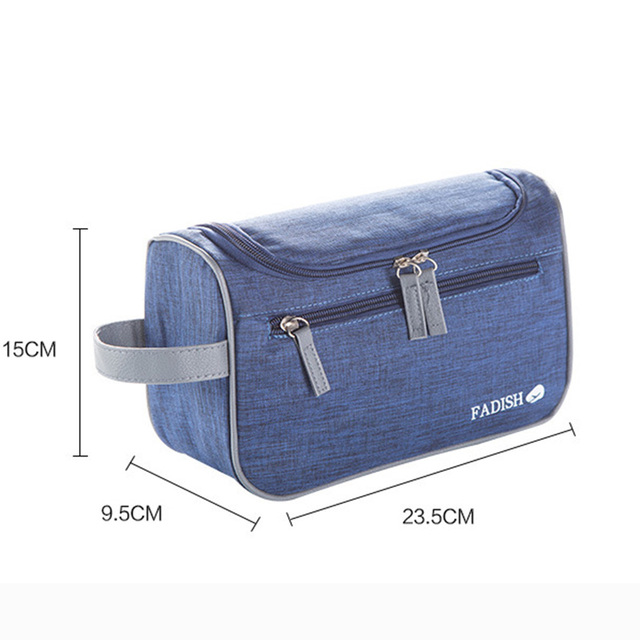 75c5d3cac87e Portable Large Capacity Waterproof Man Nylon Travel Wash Bag Cosmetic Bag  Men s Bath Make Up Bag