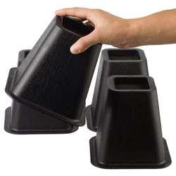 4 шт. кровать набор стоек стул мебель Лифт блоки слон мебель кровати стулья стол деревянный пол ноги протекторы мебели стояки
