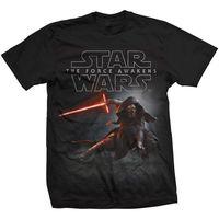 Star Wars Episode VII 7 T Shirt Men S The Force Awakens Kylo Ren Shadows T