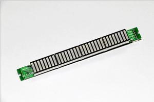 Image 5 - 32 LED מוסיקה חשמל מחוון רמת VU מטר מד אודיו עבור מגבר לוח מתכוונן אור מהירות לוח AGC מצב