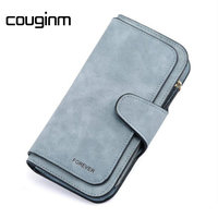COUGINM Brand Women Wallet Coin Purse PU Leather Wallet Purse Female New Fashion Card Wallet Holder