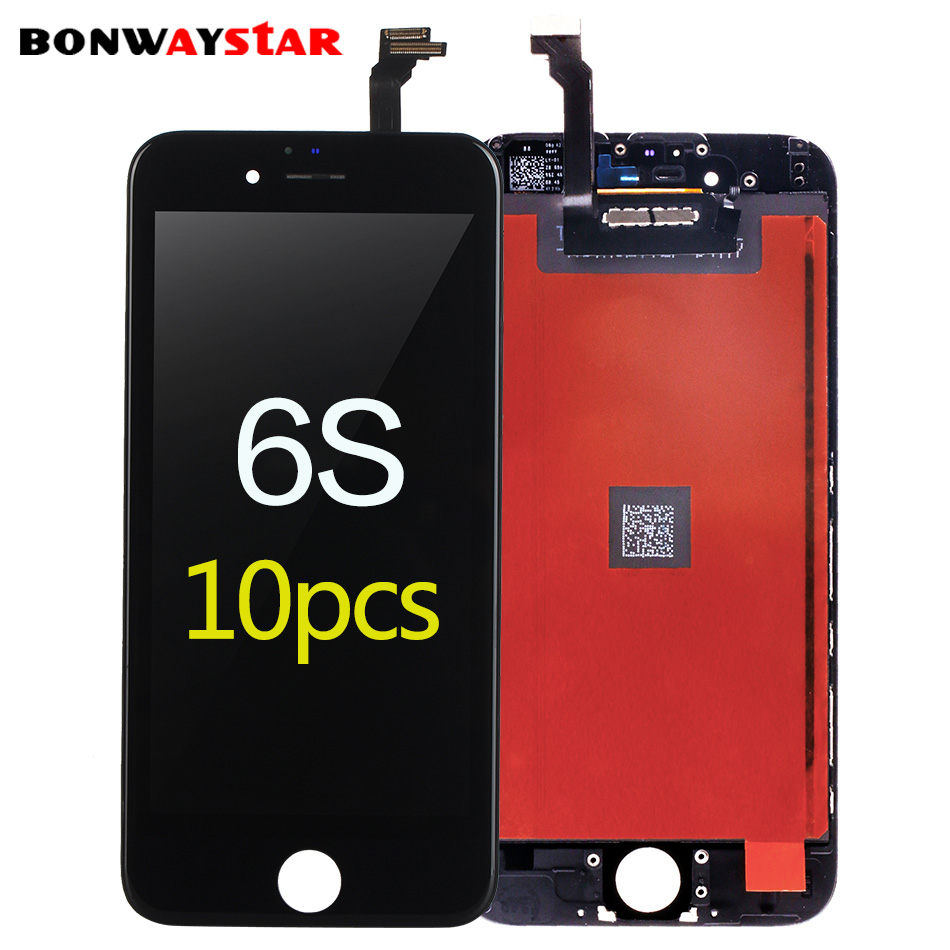 10pcs LCD Screen for <font><b>iphone</b></font> <font><b>6s</b></font> Display LCD Touch Screen Digitizer Assembly Replacement for <font><b>iphone</b></font> <font><b>6s</b></font> lcd <font><b>ecran</b></font> Pantalla screen image