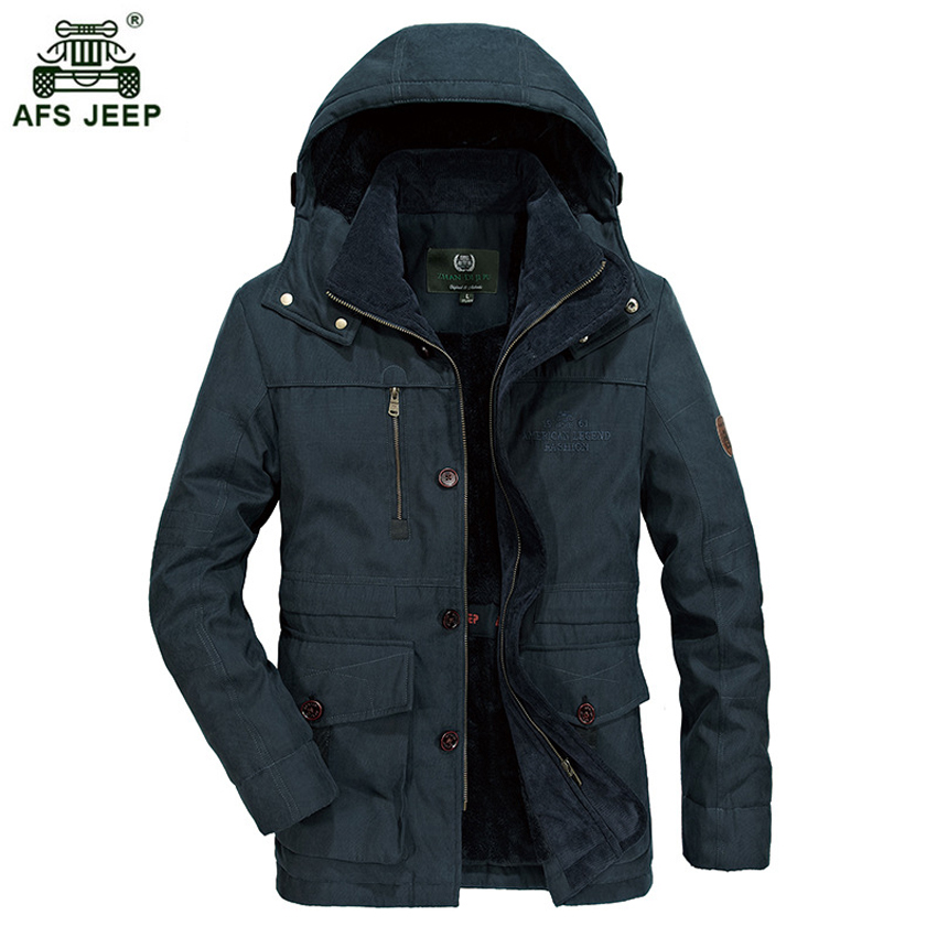 Marque parka hommes veste d'hiver hommes chaud épais polaire marque militaire veste coton-rembourré veste hommes parka manteau M-4XL 180wy