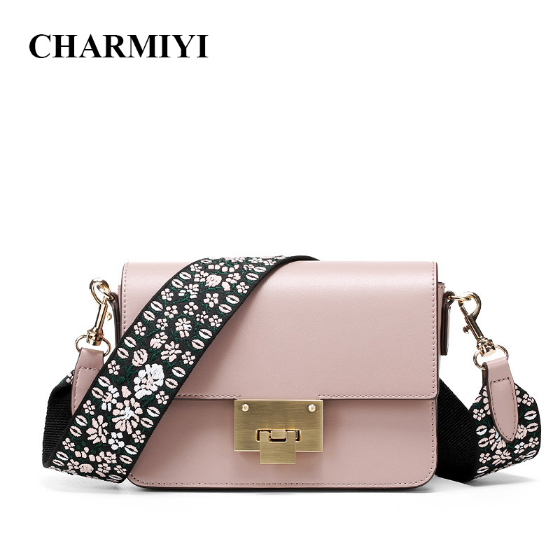 CHARMIYI Luxury Small Woven Strap Handbags Women Flap Leather Shoulder Bag Designer Clutch Fashion Purse Crossbody Bags for Lady thinkthendo new woven bags chain strap replacement for purse handbag shoulder bag accessories faux leather metal