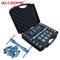 ALLSOME Bicycle Bottom Bracket Hub Bike BB Axis Bearing Removal Press Installation Tool Kit Set Hand Tool Set