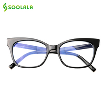 SOOLALA Anti Blue Light Glassse Women Men Eyeglasses Glare UV Blocking Gaming Computer Protector Glasses