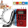 Portable Digital LCD Receiver AM FM Band Radio MP3 Music Player REC Recorder
