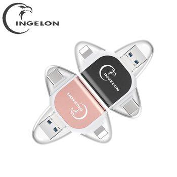 Smart Type c Micro SD Card Reader Lector De Tarjeta Memory Card USB Adapter e Reader For iPhone 11 x 5 6 7 8 iPad Cardreader