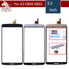 High Quality 5.5 For LG G3 D850 D855 D858 Touch Screen Digitizer Sensor Outer Front Glass Lens Panel Replacement аккумулятор для телефона ibatt bl 53yh для lg d855 g3 d690 d690 g3 stylus d851 g3 d850 g3 d856 lg g3 dual lte vs985 g3 ls990 g3 d690n f400 g3 aka