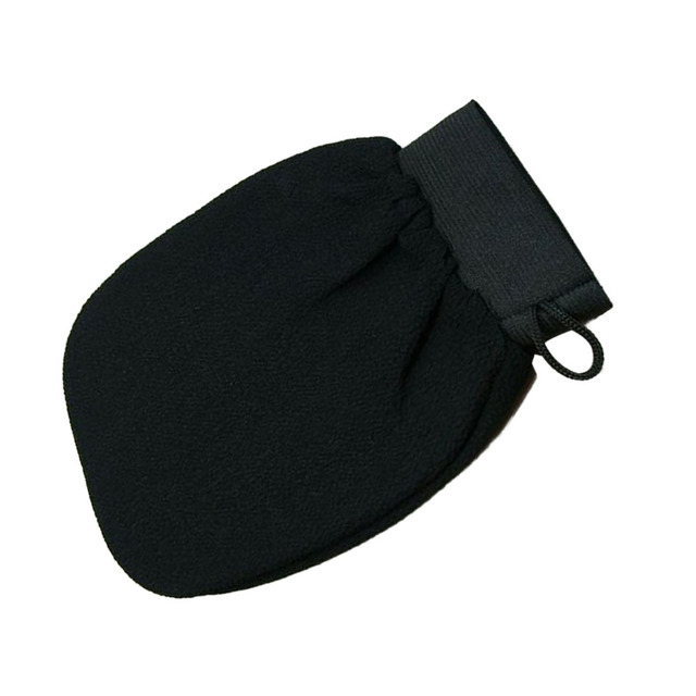 Good Quality 1 PC Magic Black Exfoliator Bath Glove Body Cleaning Scrub Mitt Rub Dead Skin Removal Shower Spa Massage 3