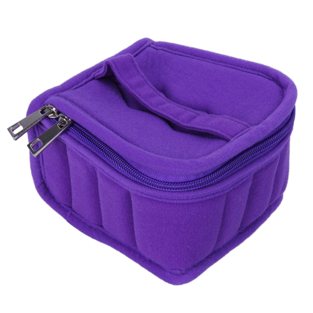 16 Lattices Cosmetic Bags Essential Oil Bag Carrying Case Holder 5 10 15ML Female Storage Bag