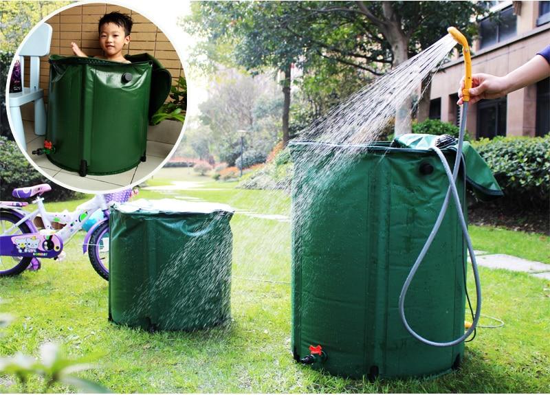 Portable Rain Barrel outdoor garden (1)-1