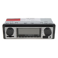 SX 5513 Car Stereo with Bluetooth Single Din Car Radio MP3 Player USB/SD/AUX/FM Receiver Wireless Remote Control Included