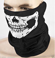 Skull Bandana Bike Motorcycle Helmet Neck Face Mask Paintball Ski Sport Headband Scarf