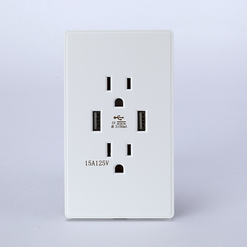 1PCS SS010 American Standard Power Socket Electrical Socket Outlet ...