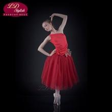 Children's Adult Ballet Skirt Multi-Layer Skirt Show Veil Dress Costume Tutu Modern Ballet Swan Lake Sleeping Beauty