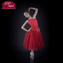 Childrens Adult Ballet Skirt Multi-Layer Show Veil Dress Costume Tutu Modern Swan Lake Sleeping Beauty