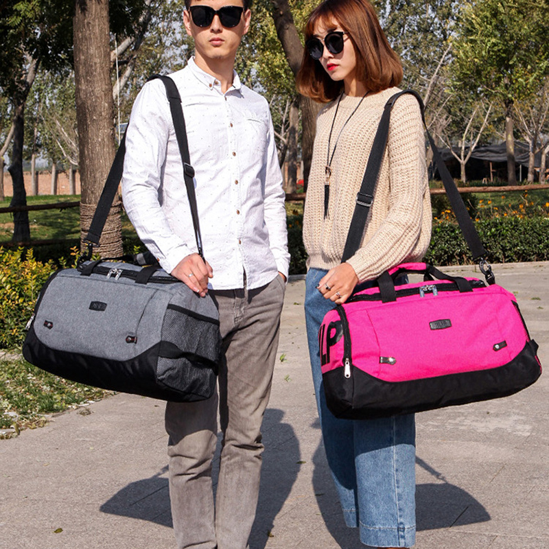Scione Men Travel Bag Large Capacity Hand Luggage Travel Duffle Bags Nylon Weekend Bags Women Multifunctional Travel Bags