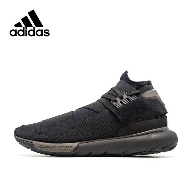 Original Nouvelle Arrivée Officiels Adidas Y-3 QASA HAUTE Hommes Respirant Chaussures de Course de Sport En Plein Air Sneakers Bonne Qualité CP9854