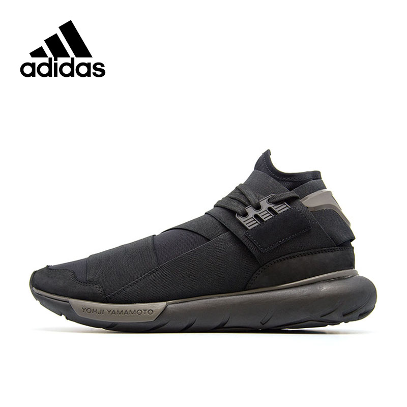Original nueva llegada oficial Adidas Y-3 QASA de transpirables de los hombres Zapatos de deporte al aire libre de buena calidad CP9854