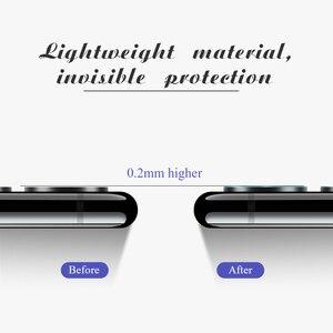 Image 5 - 2w1 Redmi Note 8T szkło hartowane dla Xiaomi Redmi Note 7 8 9 Pro Max 9 S pełna osłona ekranu Protector Camera Len folia ochronna