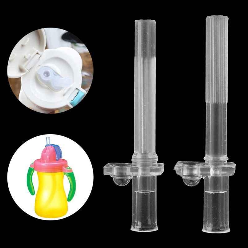 Kids Drinkbeker Water Fles Voeden Zachte Siliconen Accessoires Baby Stro