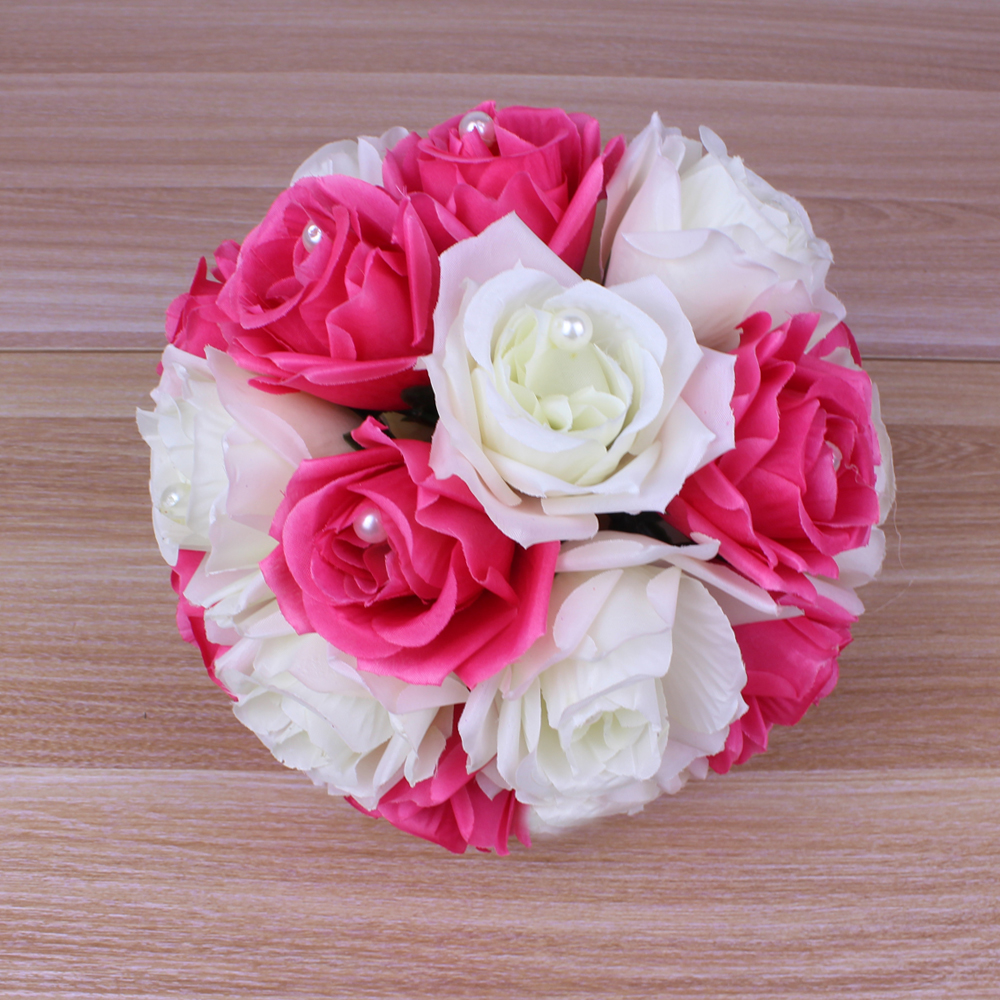 20cm handmade artificial flower ball with pearl bead wedding flowers 20cm handmade artificial flower ball with pearl bead wedding flowers bouquets holding flowers centerpiece party decor ball in artificial dried flowers izmirmasajfo