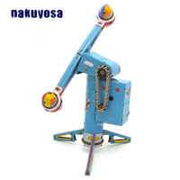 Antique Reminiscence Metal Rotary Rocket Tin Ferris Wheel Toy Childhood Memories Clockwork Toys For Children Adults Collection