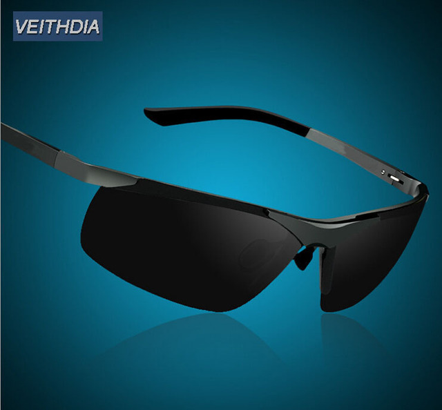 Nova marca óculos polarizados homens condução espelho esporte óculos de sol dos homens do Vintage óculos óculos
