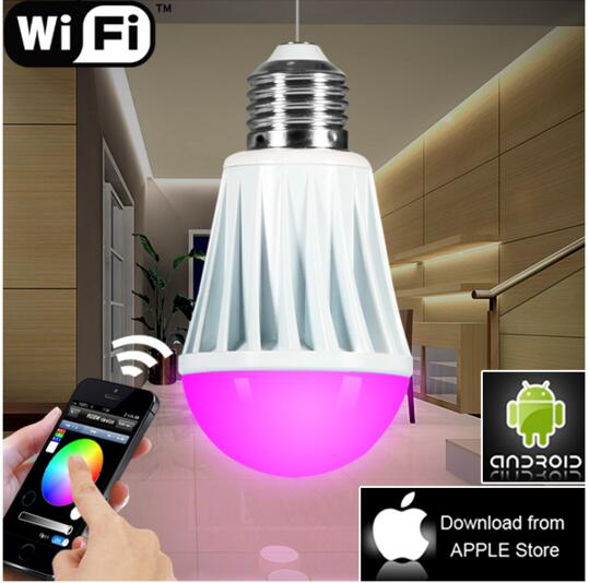 ФОТО wifi unique table lamps,WiFi bulb lamp