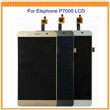 100% Nuevo Probó Bueno para Elephone P7000 LCD de Pantalla con Pantalla Táctil Digitalizador Asamblea Negro Blanco Colores de Oro