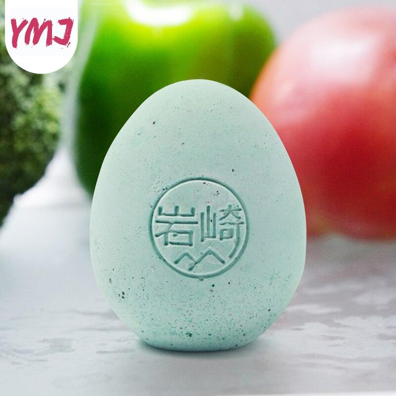 Дезодорант для холодильника яйцо домашнее Устранение запаха нехимический шкаф диатома дезодорирует артефакт диатома Запах освежитель воздуха 1 шт