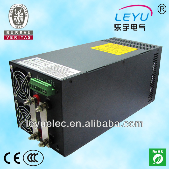 CE RoHS CCC SCN-1200-24 ac dc 50a single output high frequency switching power supply ce rohs high power scn 1500 24v ac dc single output switching power supply with parallel function