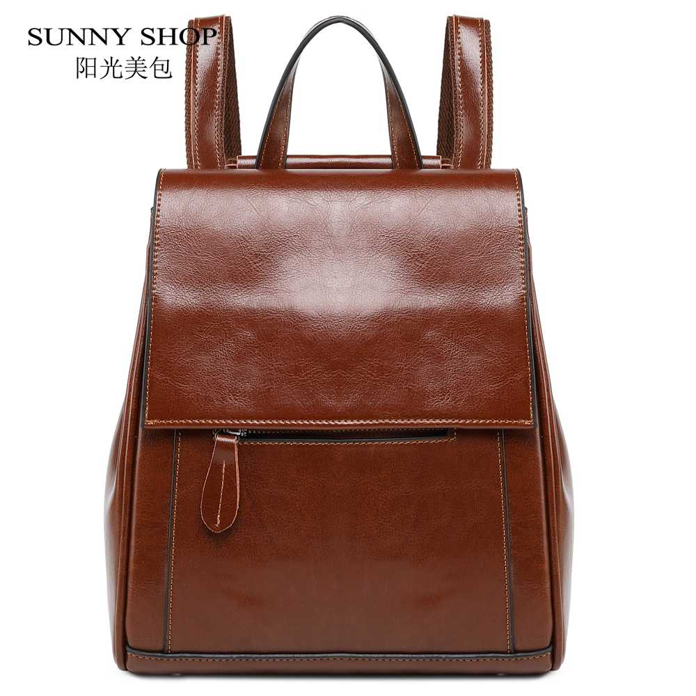 vintage small backpack female