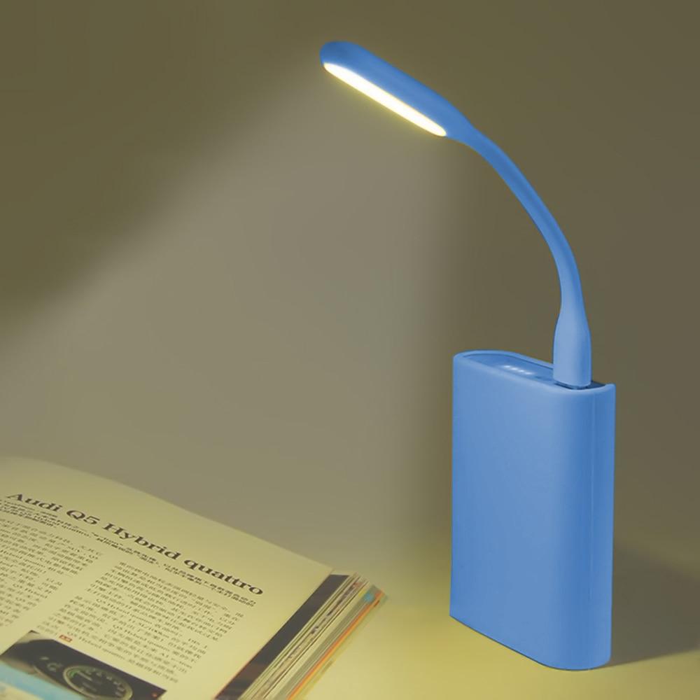 Mini Creative USB LED Book Light Summer Flexible Foldable USB LED Lamp Power Bank Computer Notebook 5V 1.2W Dropshipping