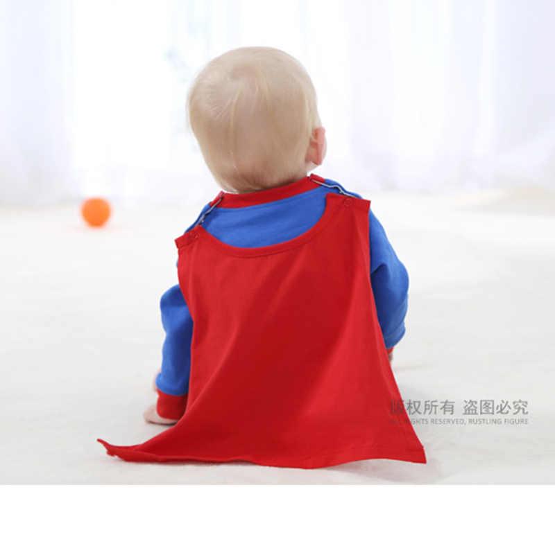 ... Lindo bebé Cosplay Superman trajes de Halloween mameluco superhéroe  Mono para bebé Infantil Niño niña traje ... 3f80560b341