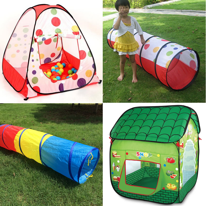 Cartoon Baby Play Tent House For Kids Play Tent Children Toys Tent Indoor Outdoor Baby Play House Children Brithday Gifts ZP35
