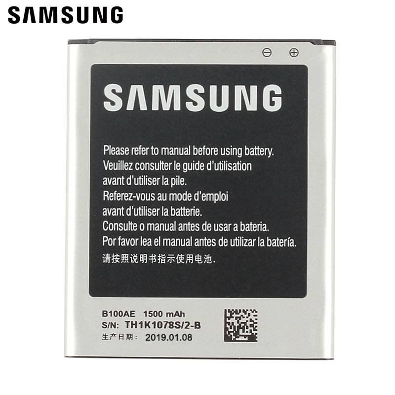 SamsungOriginal Battery B100AE For Samsung Galaxy Ace 3 Ace 4 S7568i S7278 i679 i699i G313H G318h S7898 S7272 S7270 S7262 in Mobile Phone Batteries from Cellphones Telecommunications