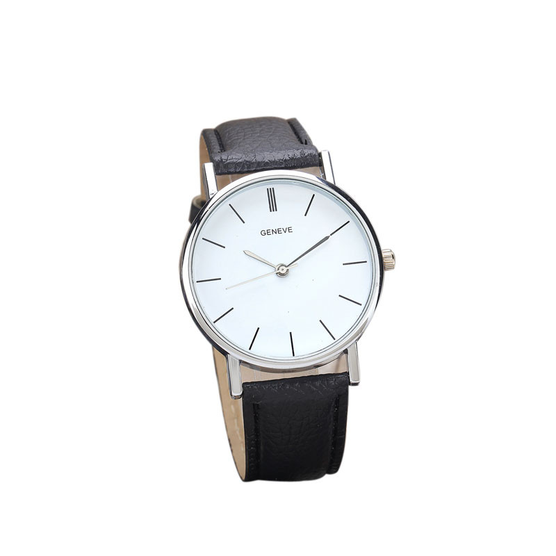 Splendid Luxury Fashion Faux Leather Mens Quartz Analog Watch Time Ikeacasa Montre Orologio Uhr часы Reloj
